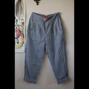 Cartonnier Gingham Trouser Pants